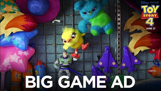 画像: Toy Story 4 | Big Game Ad www.youtube.com