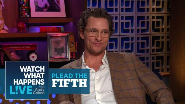 画像: Did Matthew McConaughey Date Janet Jackson? | Plead The Fifth | WWHL www.youtube.com