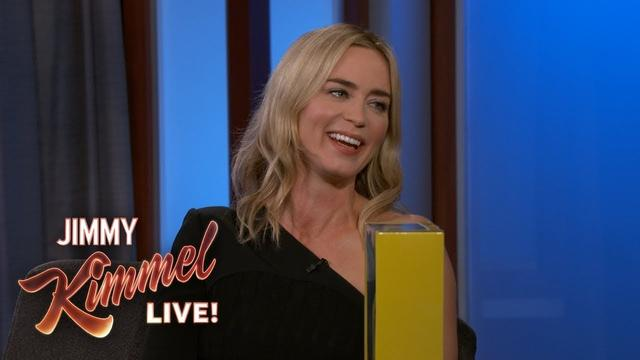 画像: Emily Blunt on Daughter's Reaction to Mary Poppins www.youtube.com