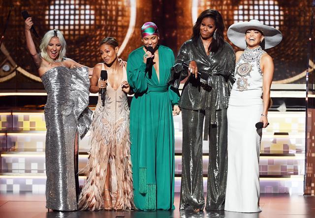 画像1: グラミー賞2019にミシェル・オバマ夫人が現れて授賞式を「乗っ取る」