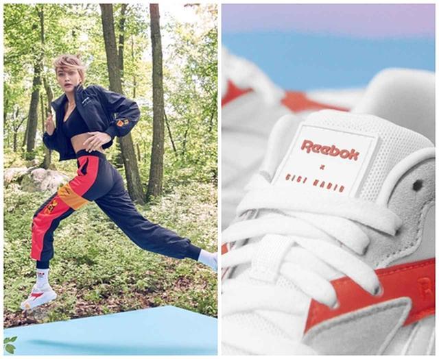 画像3: リーボックとジジ・ハディッドのコレクション新スニーカーに注目