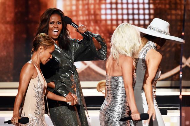 画像2: グラミー賞2019にミシェル・オバマ夫人が現れて授賞式を「乗っ取る」