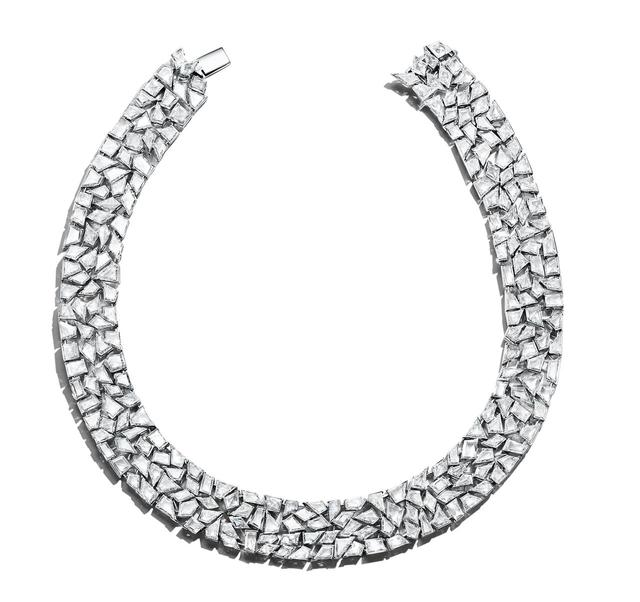 画像: 「ティファニー ブルーブック コレクション」ネックレス(プラチナ、ダイヤモンド)