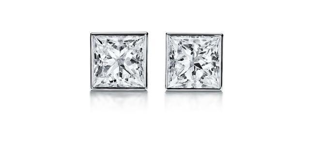 画像: ダイヤモンド ピアス(プラチナ、ダイヤモンド)