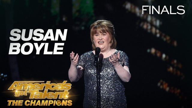 """画像: Susan Boyle Sings The Iconic """"I Dreamed A Dream"""" - America's Got Talent: The Champions www.youtube.com"""