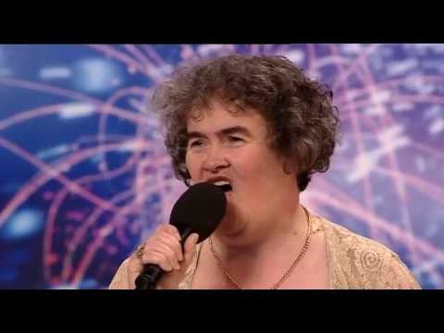 画像: Susan Boyle - Britains Got Talent 2009 Episode 1 - Saturday 11th April | HD High Quality www.youtube.com