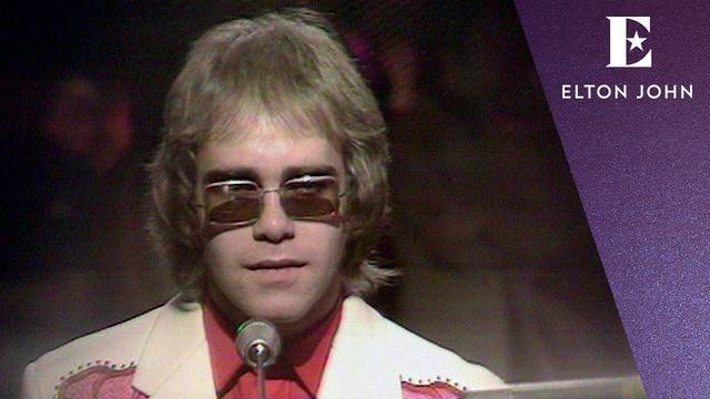 画像: Elton John - Your Song (Top Of The Pops 1971) www.youtube.com
