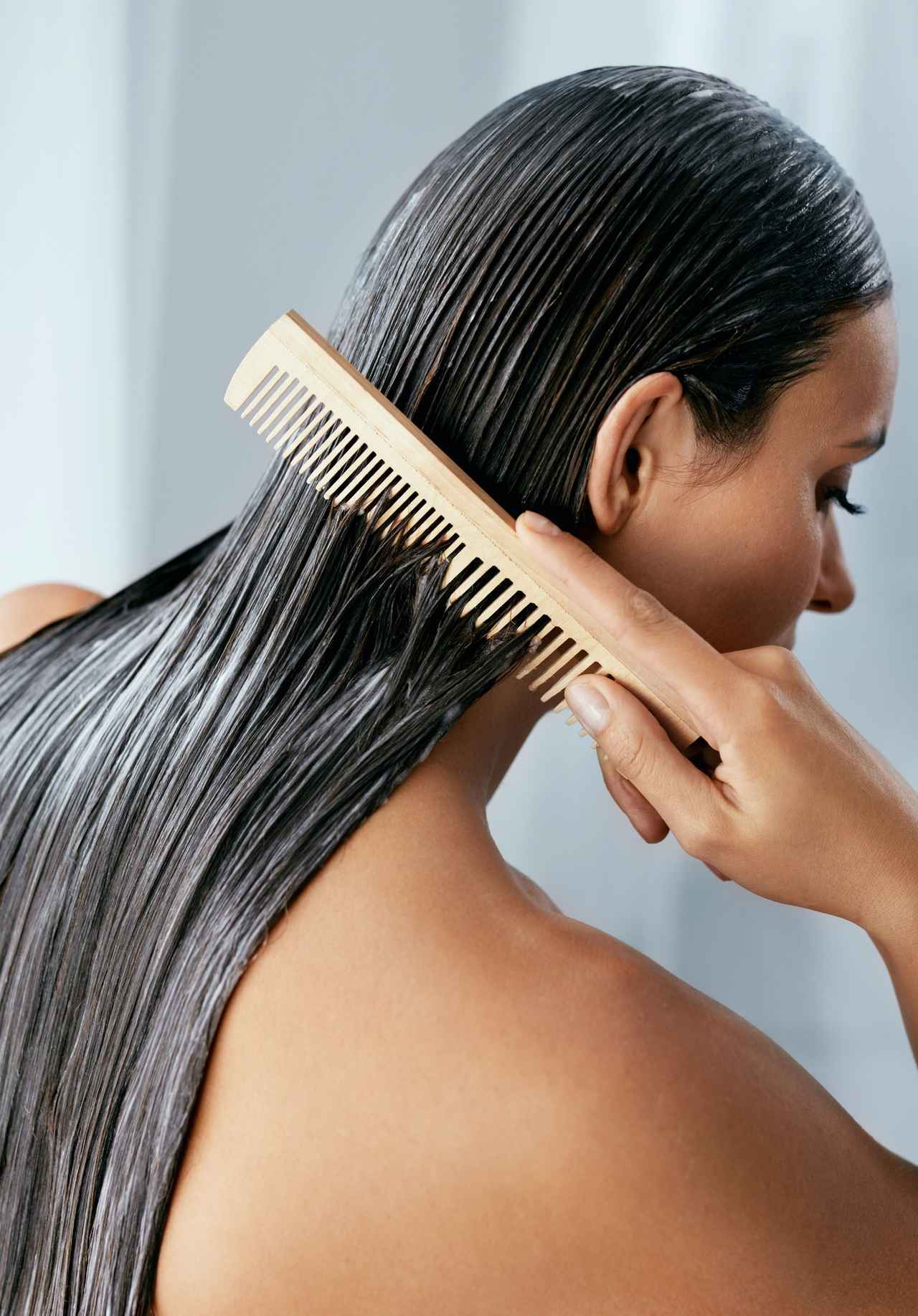 画像2: ルール2:とかすときは髪に何かつける