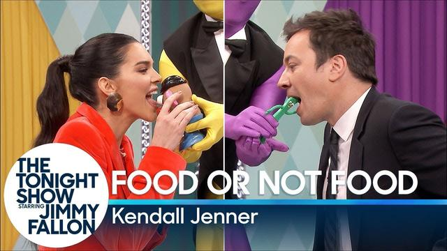 画像: Food or Not Food with Kendall Jenner youtu.be
