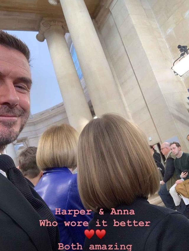 画像2: デビット・ベッカムの愛娘が、アナ・ウィンターそっくりになって登場!