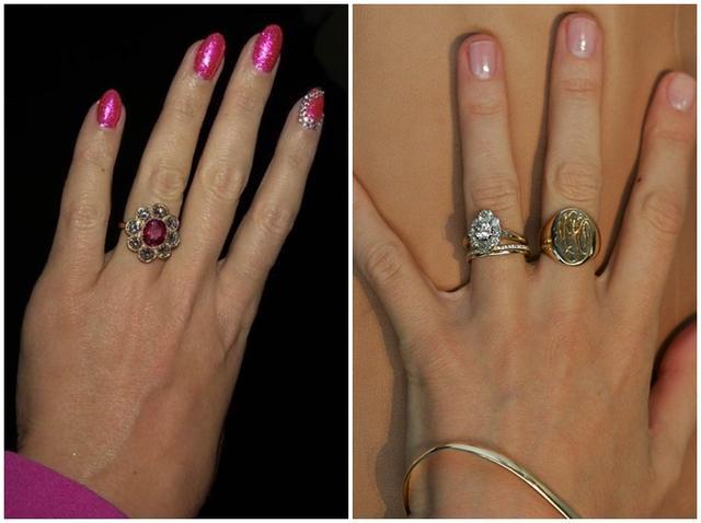 画像2: オーリーの元妻ミランダの指輪に激似?