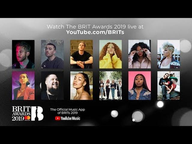 画像: The BRIT Awards 2019: Live from London www.youtube.com