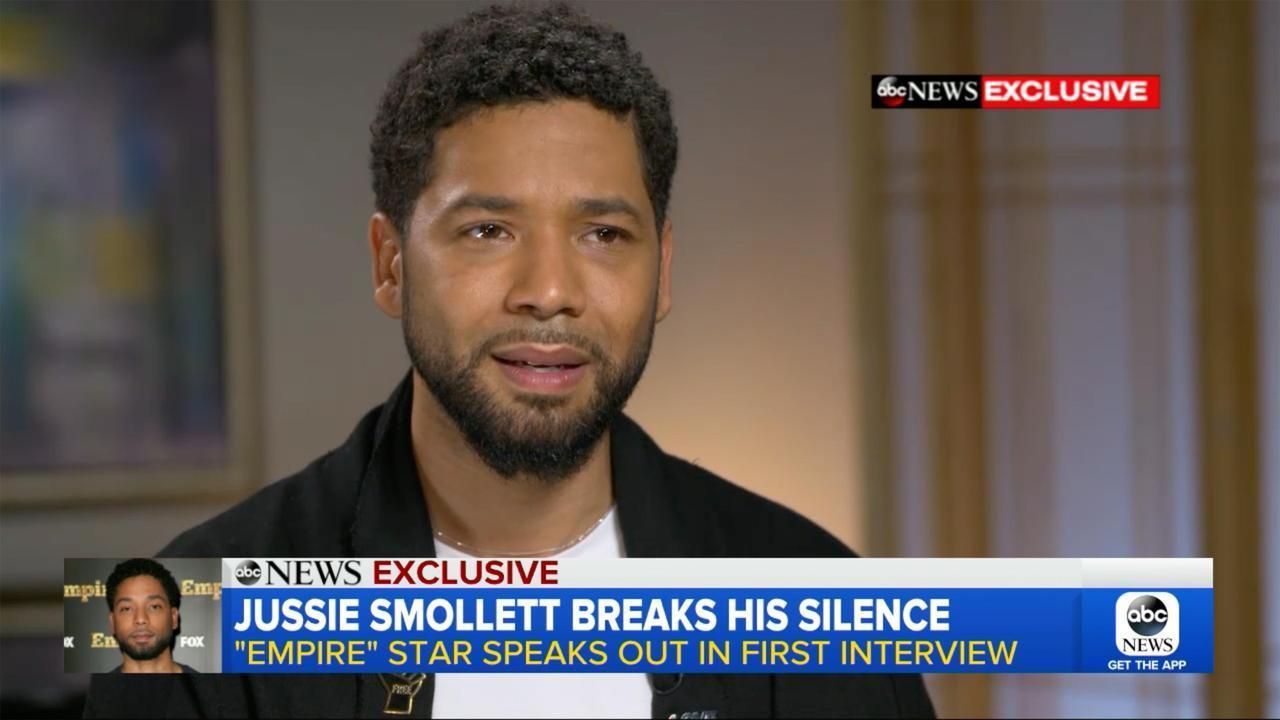 画像: 米情報番組『グッド・モーニング・アメリカ』の独占インタビューで涙ながらに事件について語るジャシー。