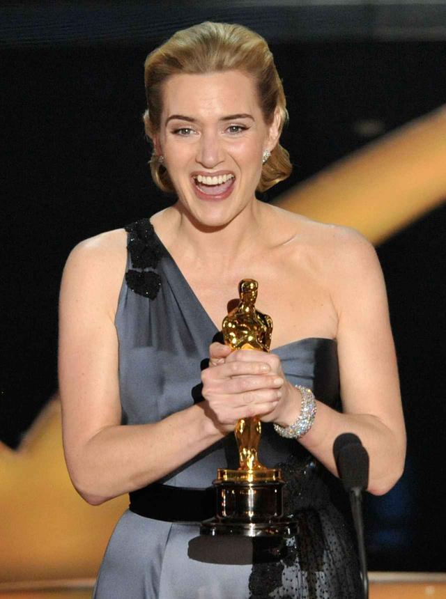 画像: 第81回アカデミー賞授賞式 女優のケイト・ウィンスレット