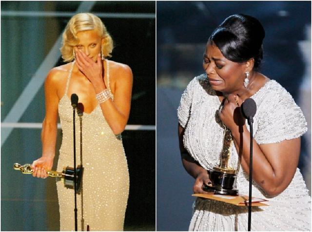 画像: 左:2004年、映画『モンスター』で主演女優賞に輝いたシャーリーズ・セロン、右:2012年、映画『ヘルプ 〜心がつなぐストーリー〜』で助演女優賞を受賞したオクタヴィア・スペンサー