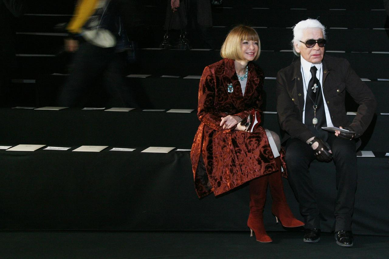 画像4: ファッション界の重鎮アナ・ウィンターがカール・ラガーフェルドの死にコメント