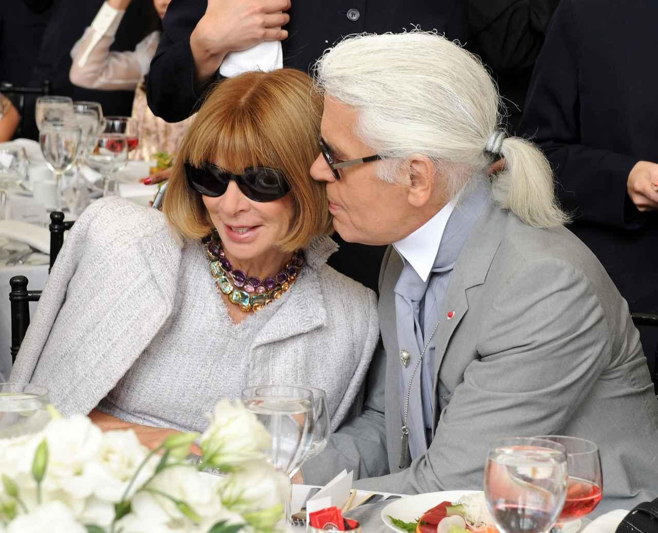 画像3: ファッション界の重鎮アナ・ウィンターがカール・ラガーフェルドの死にコメント
