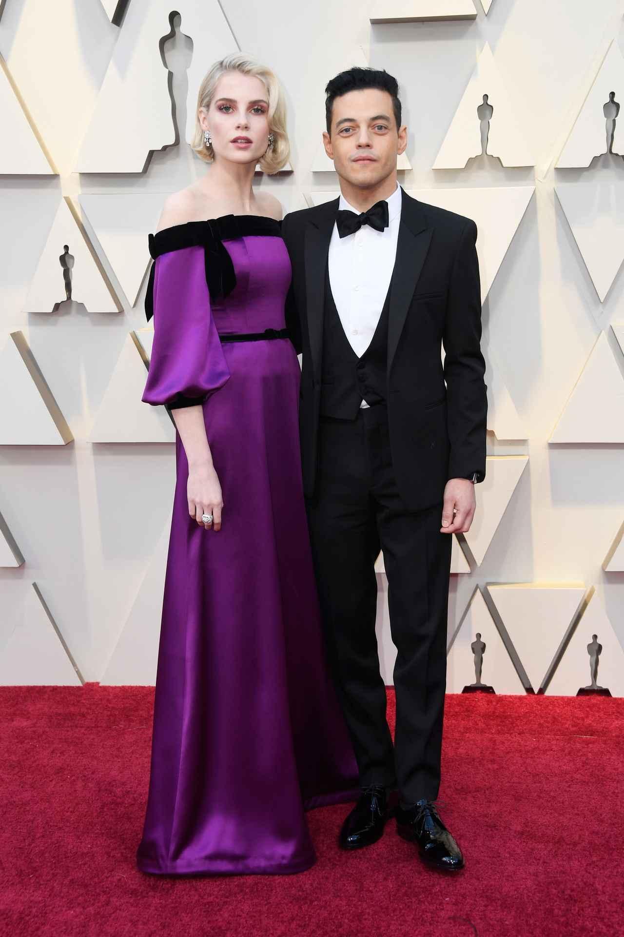 画像1: アカデミー賞で最も注目の『ボヘミアン・ラプソディ』カップル、レッドカーペットに登場!