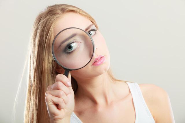 画像: 3.整え始めるとき、拡大鏡は禁止