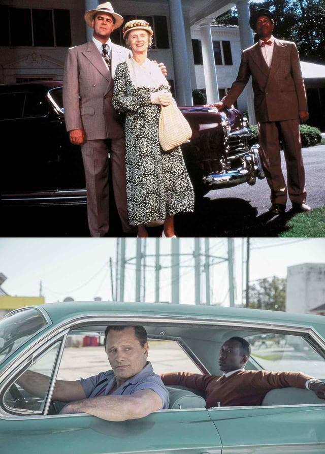 画像: 『ドライビング Miss デイジー』(上)、『グリーンブック』(下)