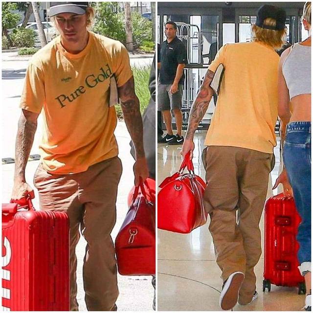 画像2: シュプリーム×リモワのスーツケースをジャスティン・ビーバーが愛用!