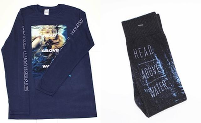 画像1: アヴリルのTシャツ&くつ下セットをプレゼント
