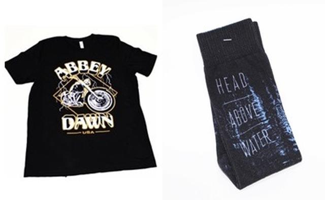 画像2: アヴリルのTシャツ&くつ下セットをプレゼント