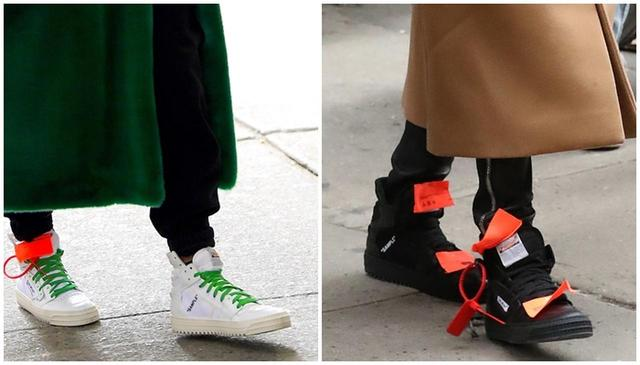 画像4: オフ・ホワイトの人気スニーカーを色違いでヘビロテする話題のセレブ