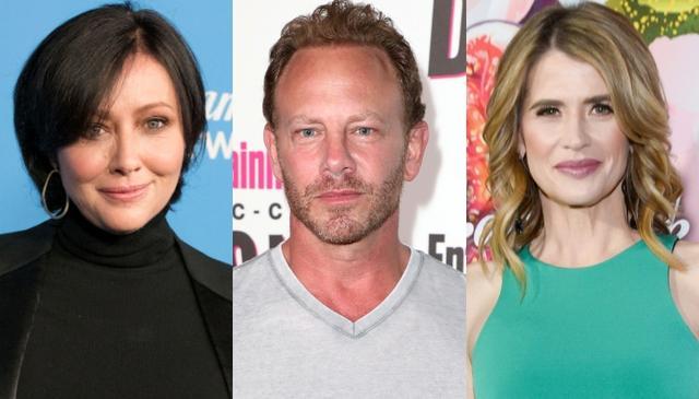 画像: 左から:シャナン・ドハーティー、イアン・ジーリング、クリスティ・スワンソン。ちなみにシャナンも『ビバヒル』新作には出演しないことが伝えられている。