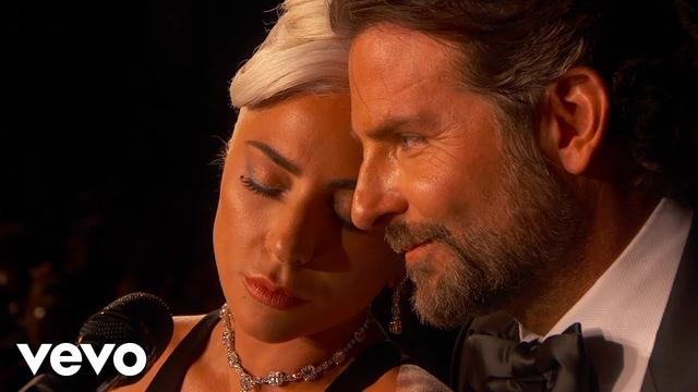 画像: Lady Gaga, Bradley Cooper - Shallow (From A Star Is Born/Live From The Oscars) www.youtube.com