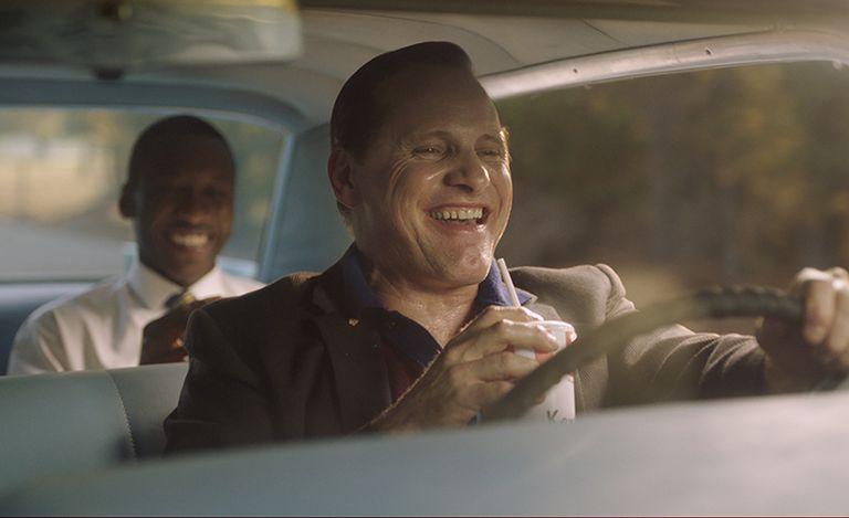 画像: 美しい景色が広がるアメリカ南部を走り抜ける車の中で、当時珍しかった白人と黒人男性2人の友情が築かれる様子を描く『グリーンブック』。