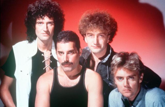 画像: 左からブライアン・メイ、フレディ・マーキュリー、ジョン・ディーコン、ロジャー・テイラー。