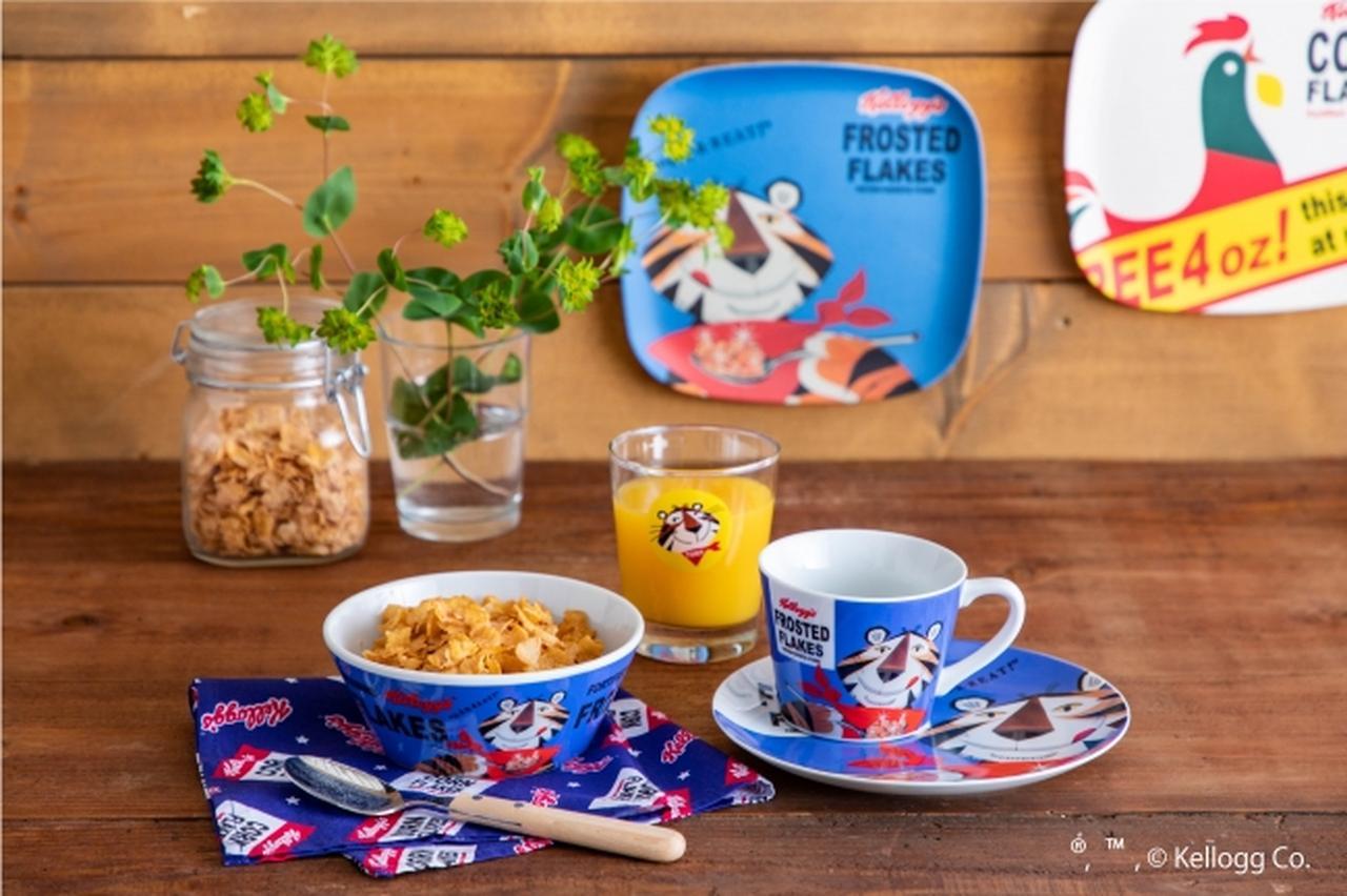 画像2: ケロッグのキャラクターが朝食やランチタイムに!オリジナルアイテム登場