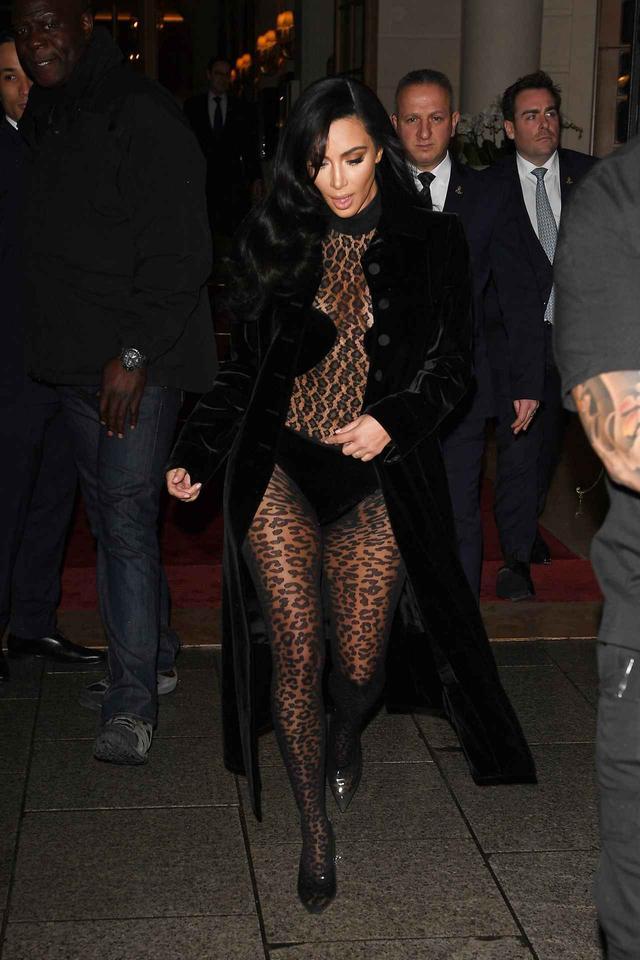 画像: キムの過激ファッションが止まらない!