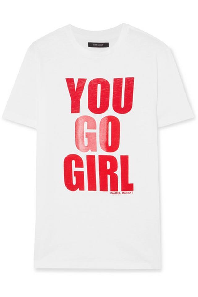 画像1: 日本でも買える!国際女性デーをお祝いしたTシャツが可愛すぎる