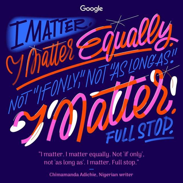 画像10: 国際女性デー、Googleが力強い格言
