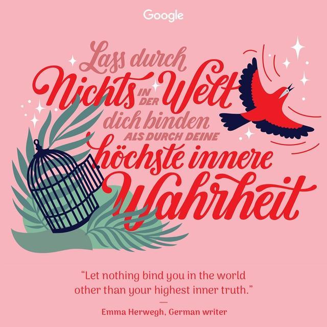 画像6: 国際女性デー、Googleが力強い格言