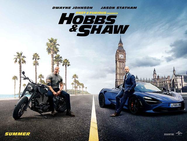 画像1: 『ホブス&ショウ』で登場する車&バイク