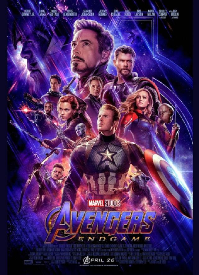 画像: 新ポスターも同時公開。©The Avengers/ Twitter