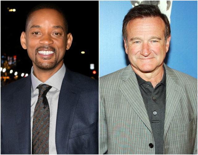 画像: 左:ウィル・スミス、右:ロビン・ウィリアムズ