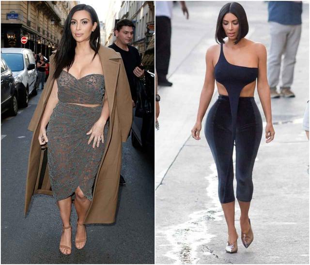 画像: 左:2015年のキム、右:最近のキム。