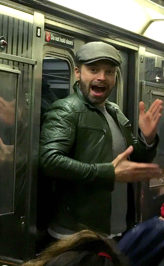 画像7: マーベル俳優が電車に乗っていたら…
