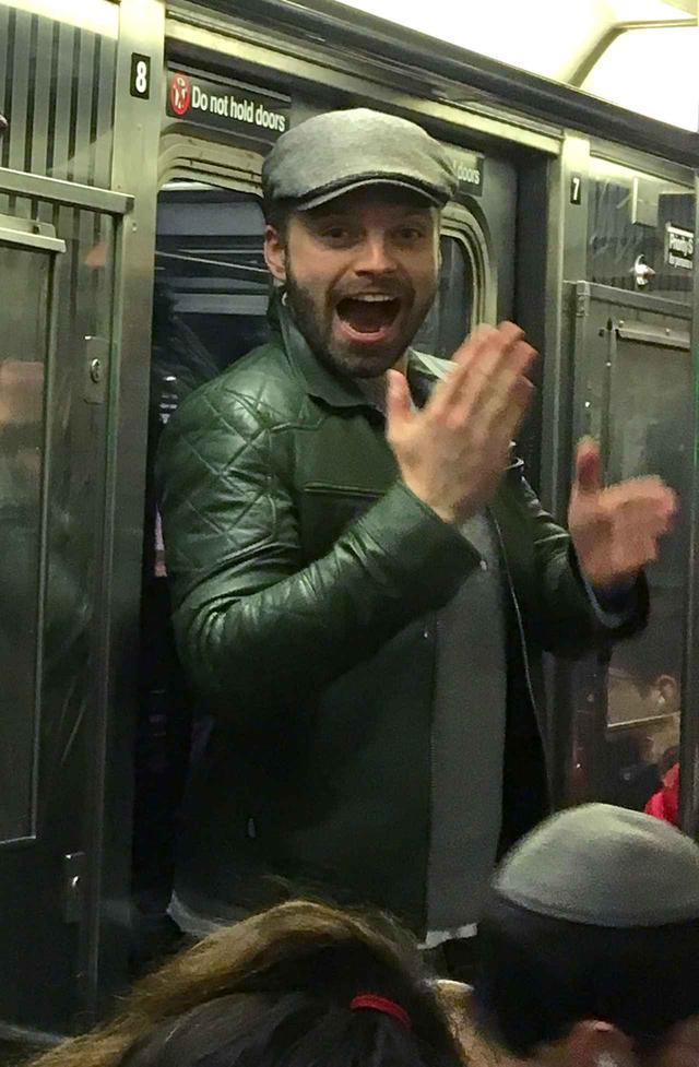 画像6: マーベル俳優が電車に乗っていたら…
