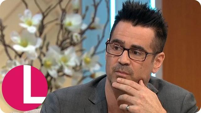 画像: Colin Farrell Says the Birth of His Son Motivated Him to Become Sober | Lorraine www.youtube.com