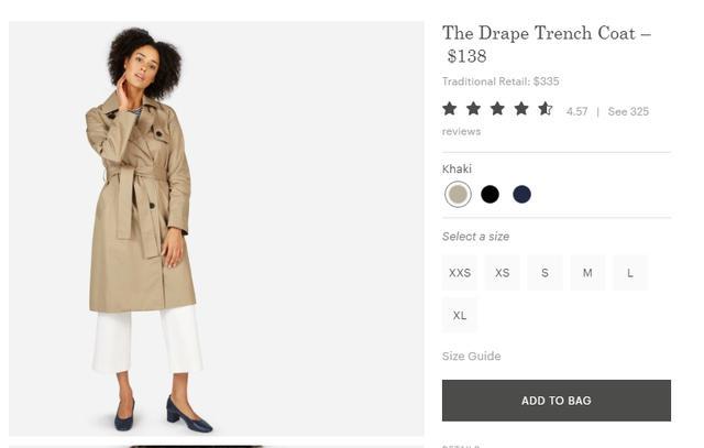 画像: アンジェリーナのコートは1万円台