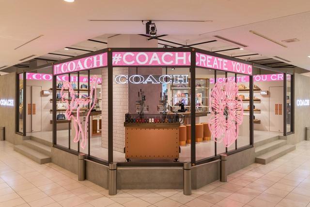 画像1: コーチが伊勢丹新宿店でポップアップストアをオープン!限定バッグ見せます