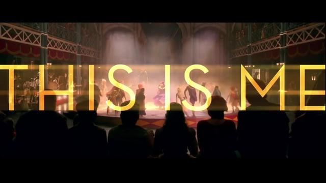 画像: The Greatest Showman Cast - This Is Me (Official Lyric Video) www.youtube.com