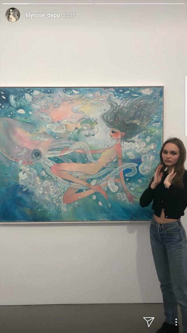 画像2: リリー・ローズ・デップが愛する日本人アーティストとは?