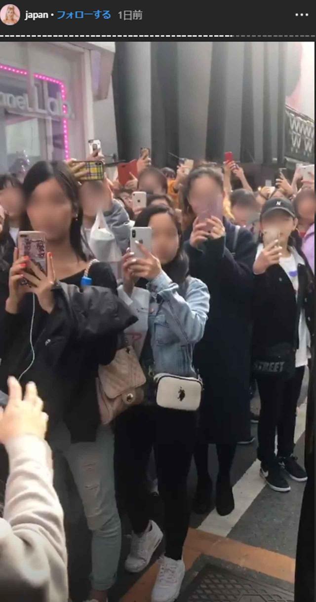 画像: 来日中は大勢の人がローレンに熱狂