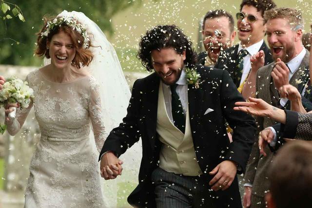 画像: エド・シーラン、新婚キット・ハリントンとローズ・レスリーの家を決める